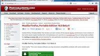 Firefox Portable: Der Mozilla-Browser für den USB-Stick