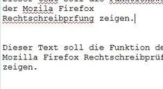 Firefox: Rechtschreibprüfung aktivieren mit kostenlosen Add-ons