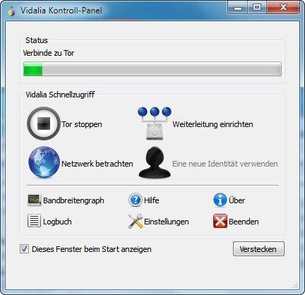 Firefox Tor Browser Steuerung