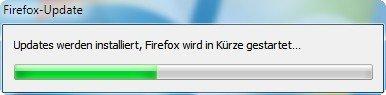 Mozilla Firefox Update Installation