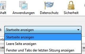 Die Firefox-Startseite einrichten und ändern
