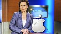 """Fernsehtipp: Frontal21 zum Thema """"Geschäftsmodell Apple"""""""