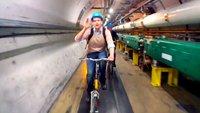 Google Glass: Werbespot im CERN und Eigenbau Flass