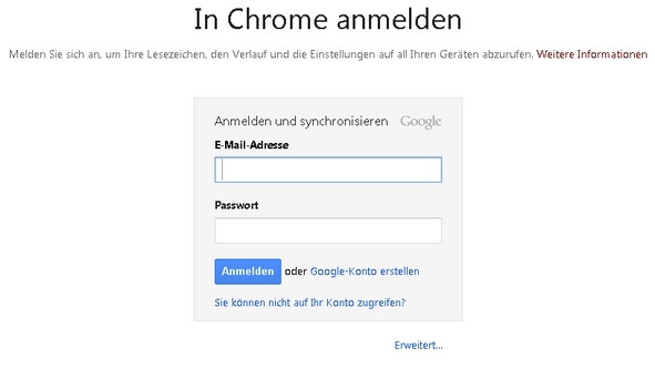 Chrom Passwörter Exportieren