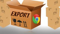 Google Chrome exportieren und alles sichern