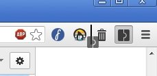 Google Chrome Toolbar Positionswechsel Screenshot
