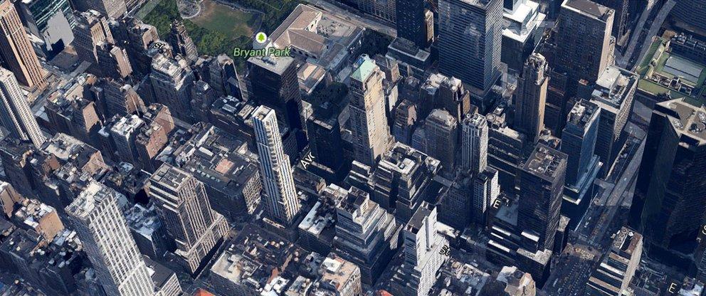 Das neue Google Maps: Earth Ansicht