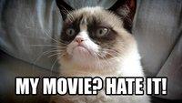 Hell no: Grumpy Cat soll die Kinoleinwand unsicher machen
