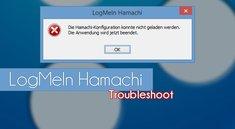 Die Hamachi-Konfiguration konnte nicht geladen werden - Lösungen