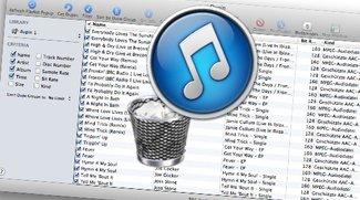 Duplikate in iTunes: Doppelte Songs löschen (Anleitung)