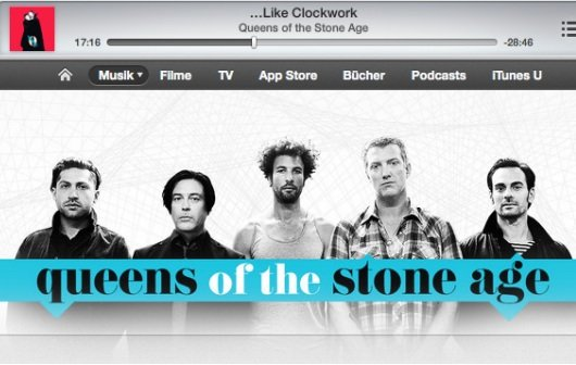 Kostenloser iTunes-Stream: Neues Album von Queens Of The Stone Age