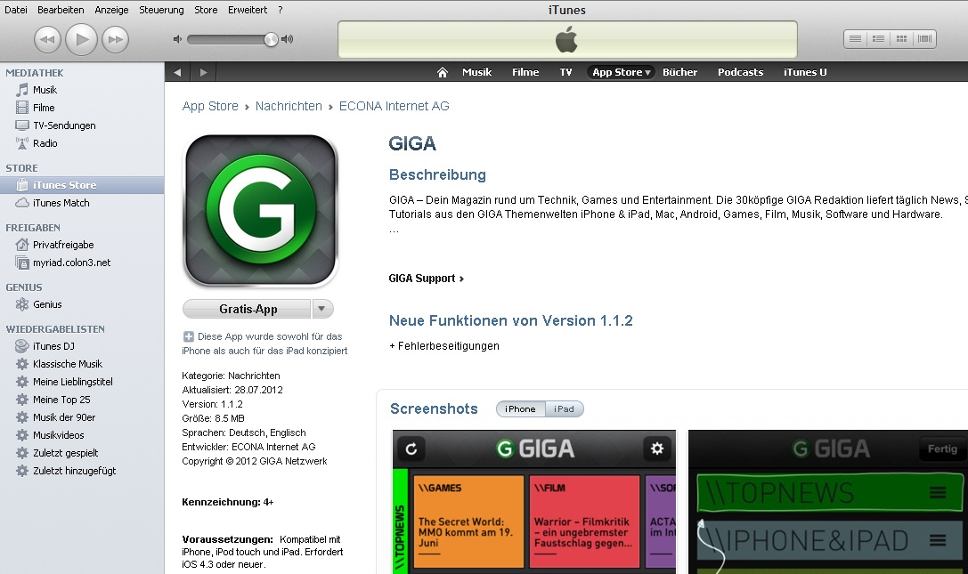 """4cd4b179ce Klicken Sie auf eine kostenlose App, so erscheint ein Fenster, in welchem  Sie aufgefordert werden, Ihre Apple-ID einzugeben. Klicken Sie hier auf  """"Apple ID ..."""