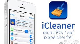 iCleaner: Räumt iOS 7 auf und macht Speicher frei [Cydia]