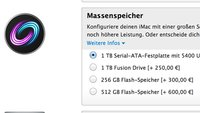 iMac 2012: Neue SSD-Optionen im Apple Online Store