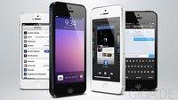 iOS 7: 10 Mockups zeigen, wie das nächste iOS aussehen könnte