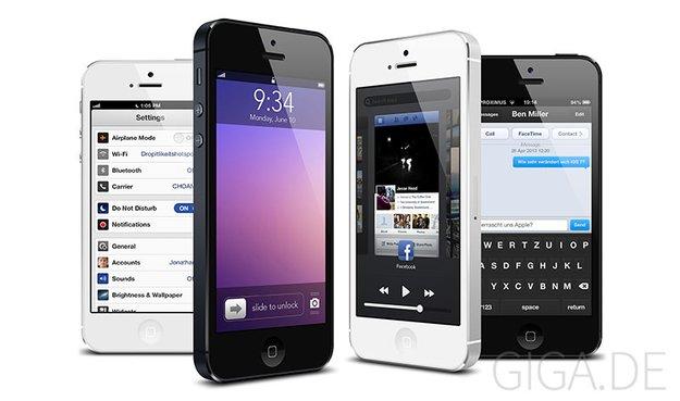 """iOS 7: Benutzeroberfläche soll """"schwarz, weiß und glatt"""" werden"""