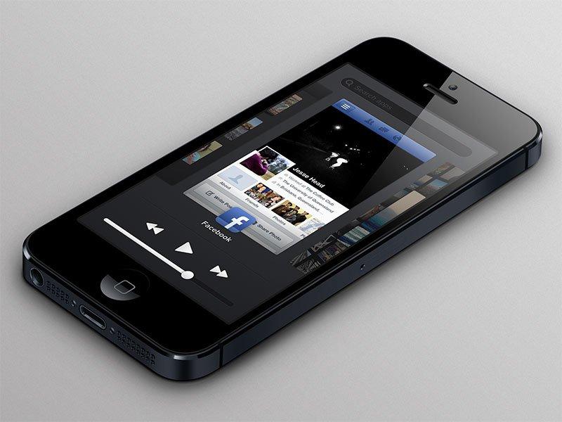 iOs 7 Konzept App-Switcher von Jesse Head