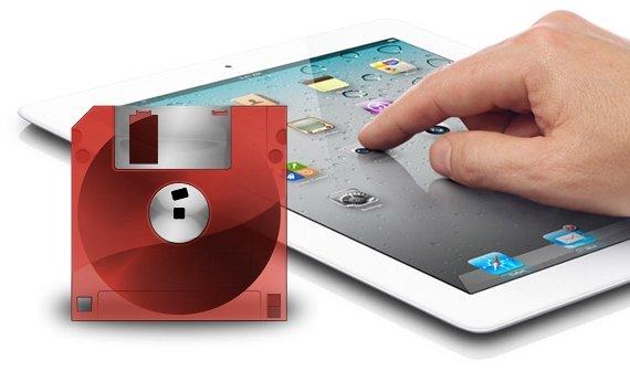 iPad: Fotoimport mit Diskettenlaufwerk (Video)