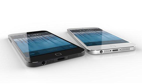 iPhone 6: Design-Konzept mit neuem Homebutton, dünnerem Gehäuse