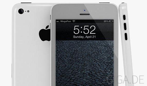 iPhone 6: Designstudie zeigt Mittelklasse-Version mit Kunststoff-Gehäuse