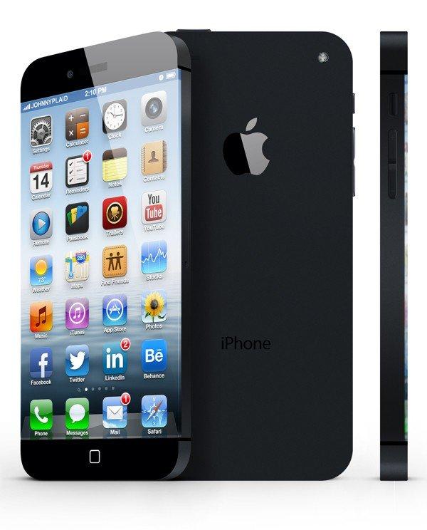 iPhone 6 Design-Konzept: Schwarzes Modell