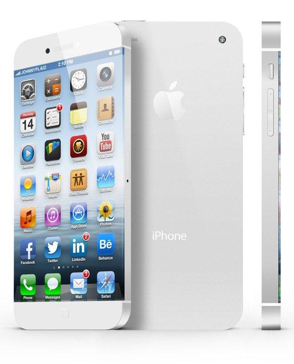 iPhone 6 Design-Konzept: Weisses Modell