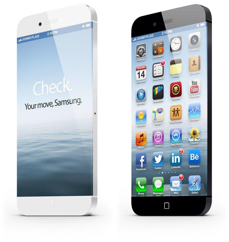 iPhone 6 - Randloses Design-Konzept