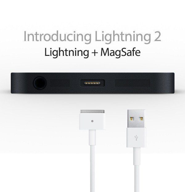 iPhone 6 Design-Konzept: Lightning 2