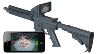 iPhone to kill: Apples Smartphone als Info-Display fürs Sturmgewehr