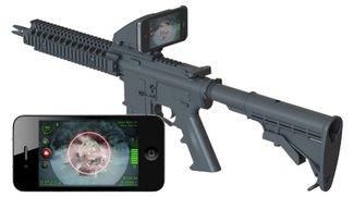 iPhone to kill: Apples Smartphone als Info-Display fürs Sturmgewehr