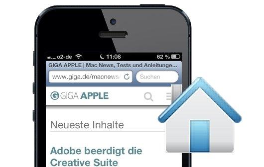 iPhone und iPad: Safari-Startseite einrichten mit GIGA APPLE (Einsteigertipp)
