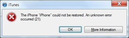 iphone fehler beim wiederherstellen