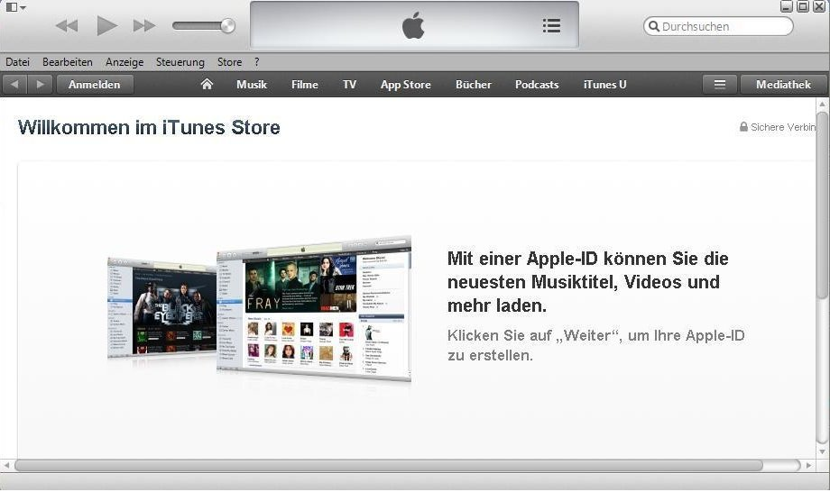 iTunes ID Screenshot