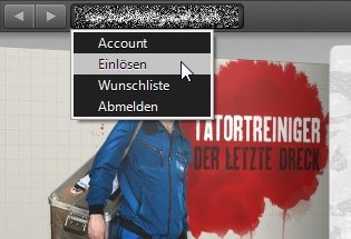iTunes Karte am PC einlösen Screenshot