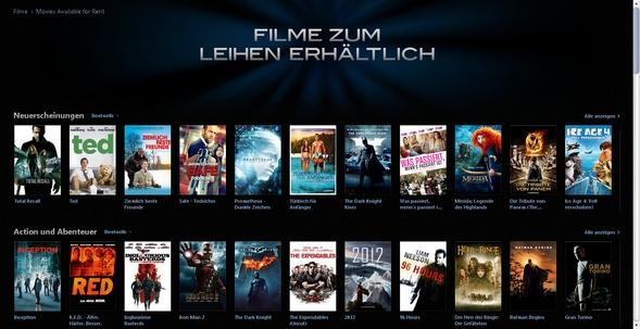 Itunes Store Filme Leihen