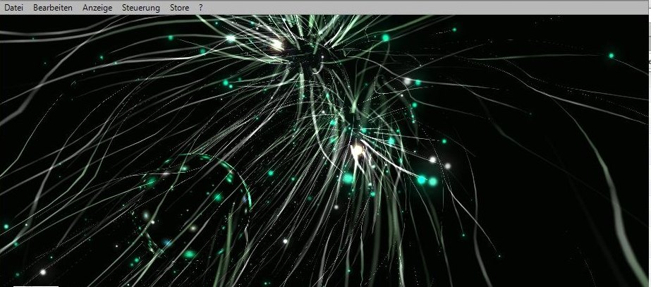 iTunes visuelle Effekte Screenshot
