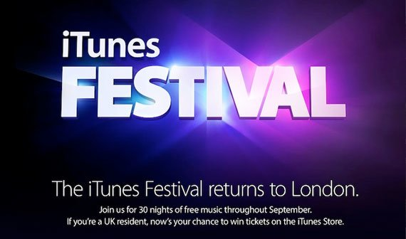 iTunes Festival 2013: Apple kündigt Termin und Line-Up an