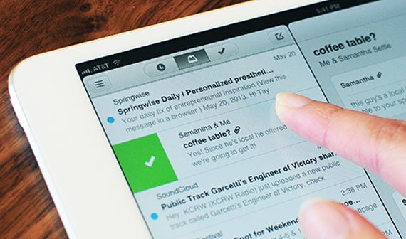 Mailbox: Populäre E-Mail-App jetzt auch fürs iPad verfügbar