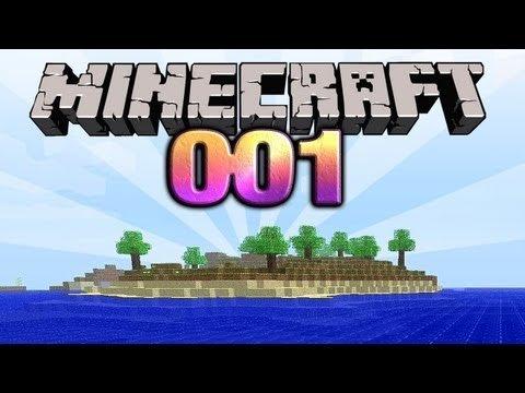 Minecraft Let's Play von Gronkh Folge 001