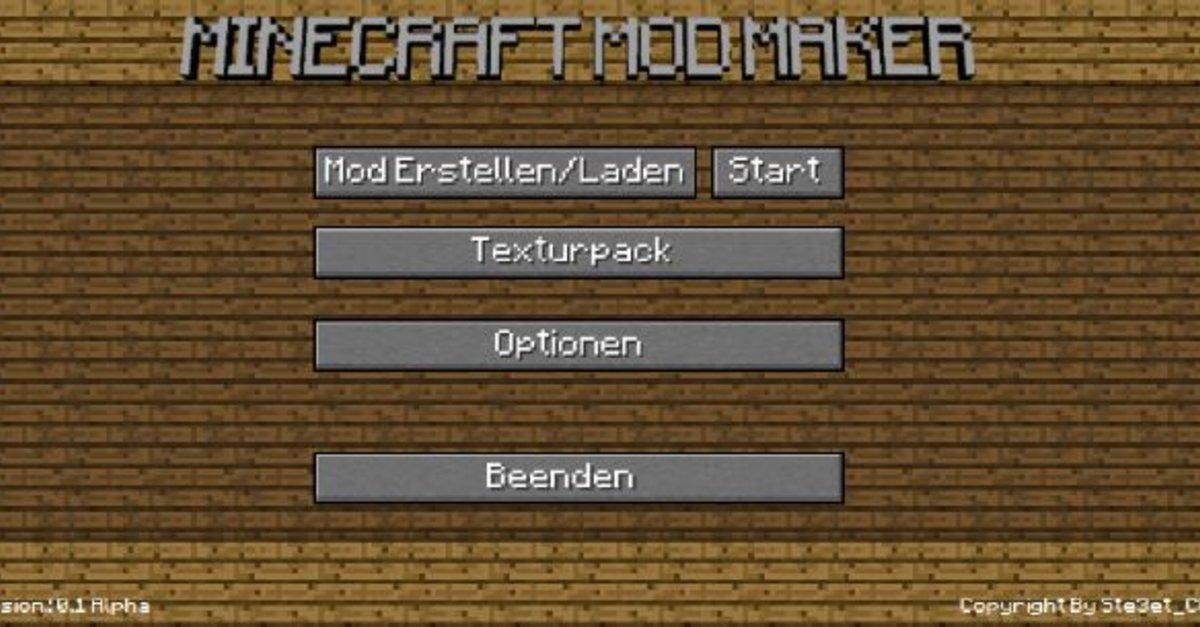 Minecraft Mods Erstellen So Einfach Macht Ihr Eigene Mods GIGA - Minecraft server leicht erstellen