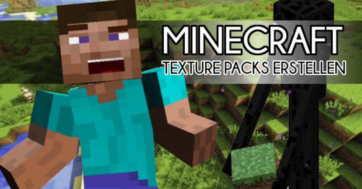 Minecraft Eigene Texture Packs Erstellen So Gehts GIGA - Minecraft texture pack namen andern