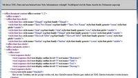 XML Dateien öffnen und bearbeiten: So geht es