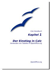 OpenOffice Calc Handbuch Kapitel 1