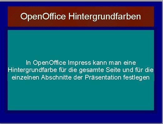 Open office eigener hintergrund einfugen