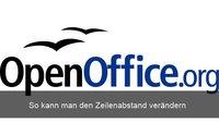 Wie kann ich in OpenOffice den Zeilenabstand ändern?