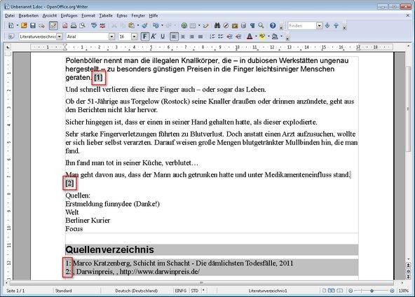 Brief Mit Openoffice Erstellen : So erstellt und pflegt man ein quellenverzeichnis in