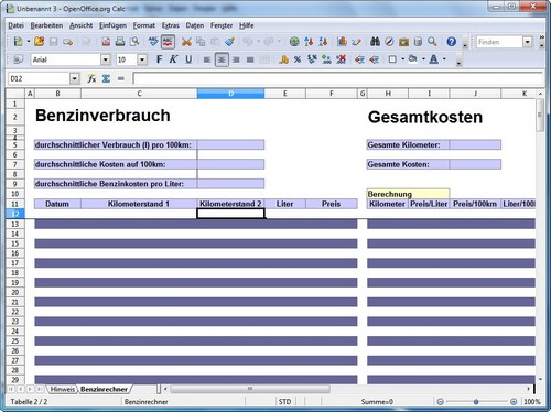 Openoffice vorlagen hier gibt es die besten oo templates for Open office calc templates
