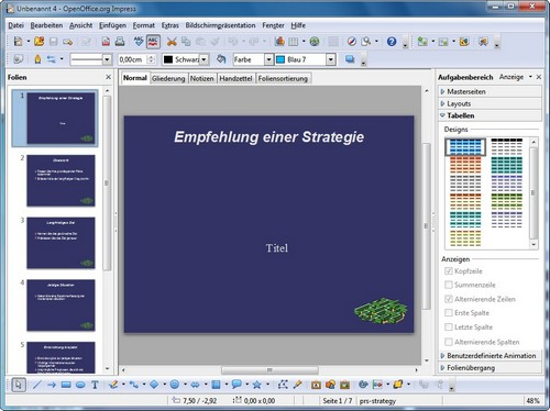 Openoffice vorlagen hier gibt es die besten oo templates for Openoffice impress templates free download