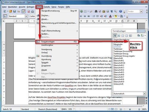 Wie kann ich in openoffice das querformat einstellen giga - Download open office calc for windows ...