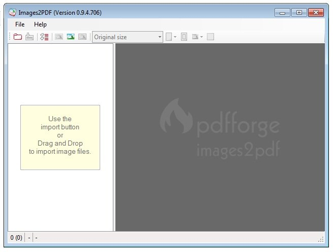 PDFCreator Images2PDF